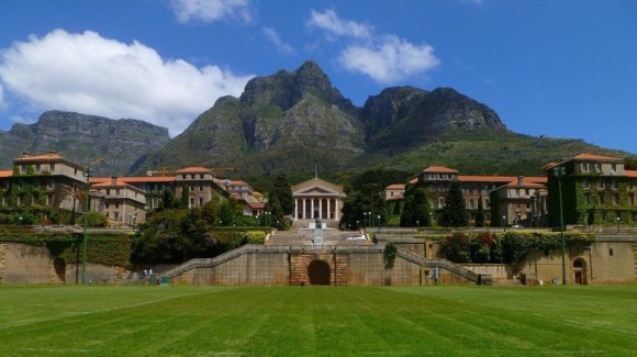 The AIFMRM is located on UCT's Upper Campus on the western face of Table Mountain.