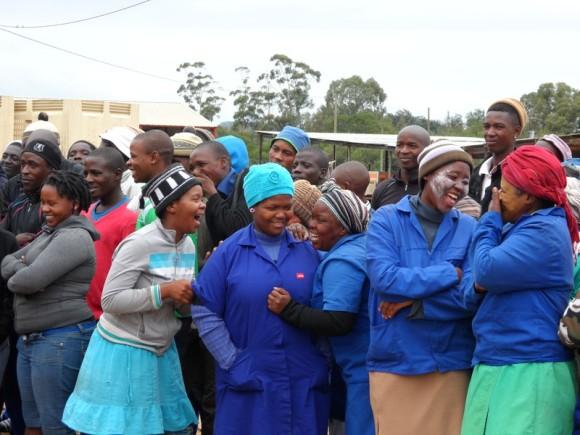 Arbeiter im süaafrikanischen Eastern Cape profitieren von den Programmen.