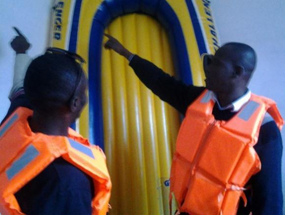 Kurz vor der gefährlichen nächtlichen Überfahrt im Schlauchboot in die spanische Exklave Ceuta.