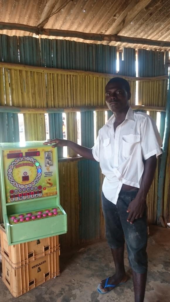 Umstritten: Chinesische Spielautomaten in ghanaischen Dörfern