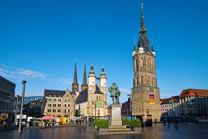 Halle Saale Stadt