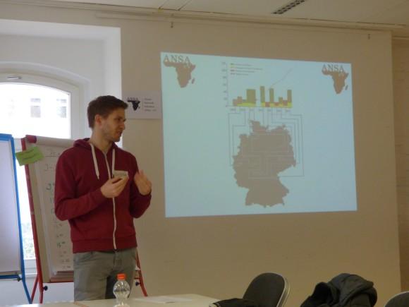 Vorstandsmitglieder präsentierten Informationen zur aktuellen Entwicklung von ANSA und hielten Skills Workshops