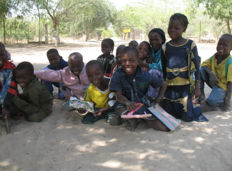 Blangoua, Far-North Cameroon - Enjoyment after School Time. Babette Abanda, 2013