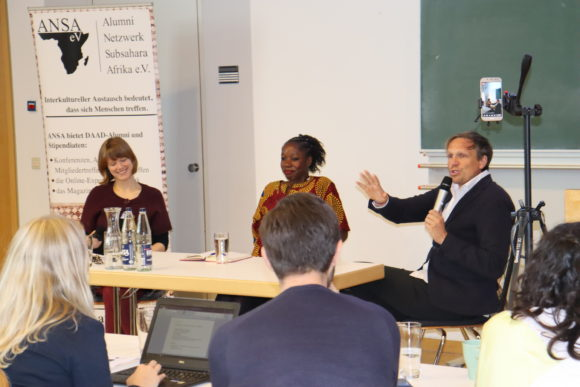 Podiumsdiskussion auf der ANSA Konferenz